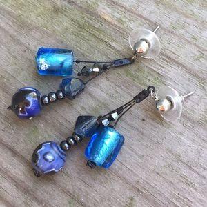 Jewelry - Glass Dangle Earrings 5/$25